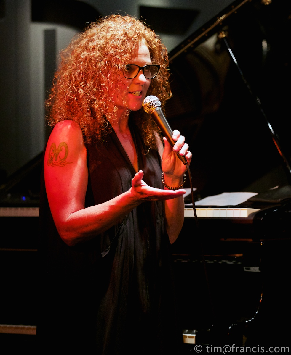 Janette Mason at her D'Ranged Cd launch at Hideaway Aug 2014